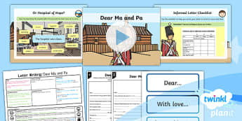 Significant Individuals: Florence Nightingale: Letter Writing 3 Y2 Lesson Pack - Nurses, Victorians, Crimean war, mini topic, year one history, Mary Seacole
