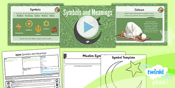 RE: Islam: Symbols and Meanings Year 3 Lesson Pack 6
