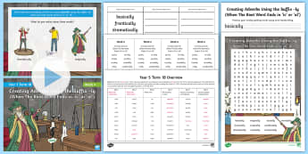 Year 3 Term 1B Week 4 Spelling Pack - Spelling Lists, Word Lists, Autumn Term, List Pack, SPaG