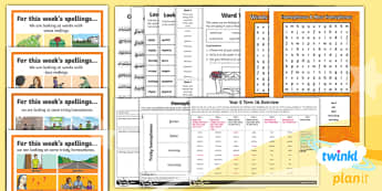PlanIt Y5 Term 1A Bumper Spelling Pack-Australia