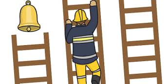 Fireman Reward Chart Ladder - fireman reward chart, people who help us reward chart, fireman ladder, ladder reward chart, fireman ladder reward chart