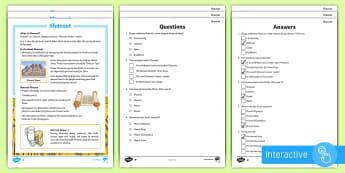 KS2 Shavuot Differentiated Comprehension Go Respond  Activity Sheets - Shavout UK REQUESTS (30.5.17)Shavuot, (30.5.17), differentiated reading comprehension, reading, comp