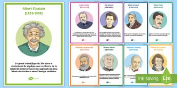 Posters d'information : Les inventions scientifiques - Science, Fête Des Sciences, greffe, Vaccin, relativité, Cycle 3, Cycle 2,