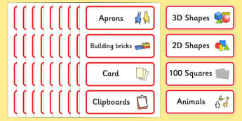 Classroom Resource Labels (Red) - Label template, Resource Label, Name Labels, Editable Labels, Drawer Labels, KS1 Labels, Foundation Labels, Foundation Stage Labels, Teaching Labels, Resource Labels, Tray Labels, Printable labels