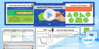 PlanIt Maths Y6 Properties of Shapes Lesson Pack 2D Shape Drawing (1)