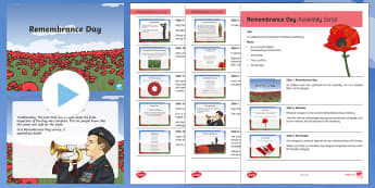 Canada Remembrance Day Assembly Pack