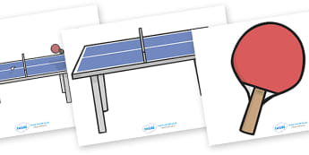 The Olympics Editable Images Table Tennis - Table Tennis, Olympics, Olympic Games, sports, Olympic, London, images, editable, event, picture, 2012, activity, Olympic torch, medal, Olympic Rings, mascots, flame, compete, events, tennis, athlete, swimm