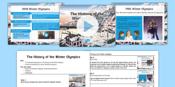 Whole School History of the Winter Olympics Assembly Pack - Pyeongchang, 2018, Olympic Games, South Korea