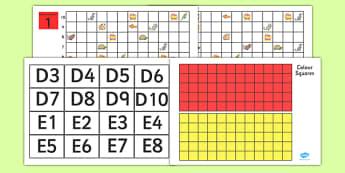 Grid Reference Game Set (Higher Ability) - coordinates game, set, game, harder, coordinates, geography, coordinates game, finding the objects, fun, activity