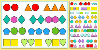 Visual Tracking Exercises Shapes - visual, tracking, exercises, sen, shapes