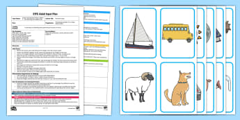 EYFS Phoneme Jump Adult Input Plan and Resource Pack - Phase 1 Aspect 7: Oral Blending and Segmenting, letters and sounds, phonics,phase one, reading, reco