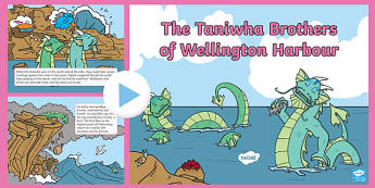 The Taniwha Brothers of Wellington Harbour PowerPoint