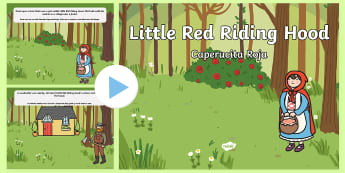 * NEW * Christmas Hunt Activity Pack - English / Spanish - EAL, powerpoint, story, tales, literature, languages, granny, big bad wolf, stories, schools, primar