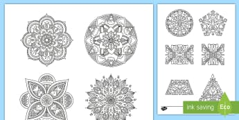 Bullet Journal Decals Colouring Page - Bullet Journal, colouring, decals, bujo, diary