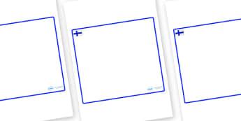 Finland Themed Editable Classroom Area Display Sign - Themed Classroom Area Signs, KS1, Banner, Foundation Stage Area Signs, Classroom labels, Area labels, Area Signs, Classroom Areas, Poster, Display, Areas