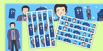 Space Time Traveller Themed Display Borders - space, time traveller, doctor who, tardis, police box, sonic screwdriver, doctor, themed, display borders