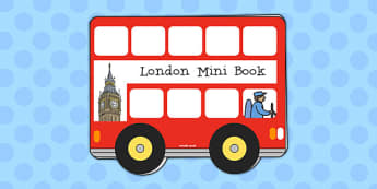 London Mini Book - london, mini book, mini, book, facts, booklet
