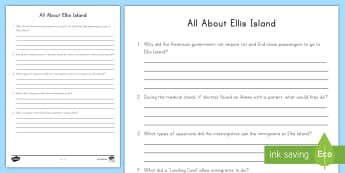 All about Ellis Island Pop Quiz - Ellis Island, New York, Immigration, Immigrant, America