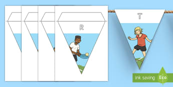 Sports Day Display Bunting - Requests KS1, sport, sports day,