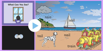 Phase 3 Words What Can You See  PowerPoint - phase 3, what can you see, pp, ppt, p3, phase3, phonics, phonics games, sounds, phonemes, graphemes,