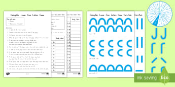 Caterpillar Lower-Case Letters Game - NZ Literacy Resources, casey caterpillar, letter formation, nz handwriting, new entrant, year 0 lite