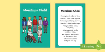 Monday's Child Nursery Rhyme IKEA Tolsby Frame - baby signing, baby sign language, communicate with baby, pre verbal baby, tiny talk, sing and sign,