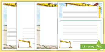Harland and Wolff Worker Diary Entry Page Border Pack - Harland & Wolff, titanic, belfast, northern ireland history, shipbuilding