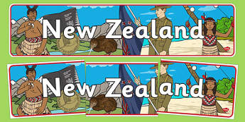 New Zealand Display Banner - New Zealand, Olympics, Olympic Games, sports, Olympic, London, 2012, display, banner, sign, poster, activity, Olympic torch, flag, countries, medal, Olympic Rings, mascots, flame, compete, events, tennis, athlete, swimmin