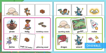 Treasures in the Garden Matching Cards - Treasures in the garden, matching cards, vocabulary, KS1, EYFS, story