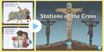 Stations of the Cross PowerPoint - Lent, Easter, Stations of the cross, religion, christian ,Irish, Irish, catholic, christian, easter,