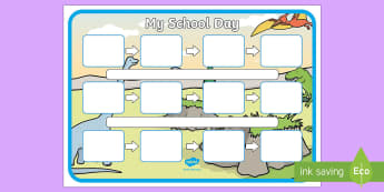 Dinosaur Themed Individual Visual Timetable Template - dinosaur, themed, individual, visual timetable, visual, timetable, template