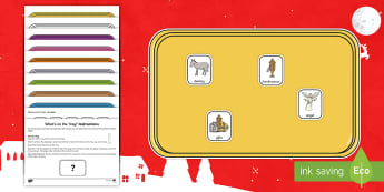 What's on the Tray? Nativity Memory Activity Pack - Visual Stimulus, Visual Memory, Auditory Processing Disorder, Deafness, Memory Games, Working Memory