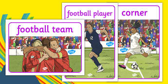 Rio 2016 Olympics Football Display Posters - Football, Olympics, Olympic Games, sports, Olympic, London, 2012, display, banner, poster, sign, activity, Olympic torch, events, flag, countries, medal, Olympic Rings, mascots, flame, compete