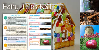 Imagine Fairy Tales KS1 Resource Pack - Hansel, Gretel, Red Riding Hood, Rapunzel, Snow White, Goldilocks, Fairy Tales, Story