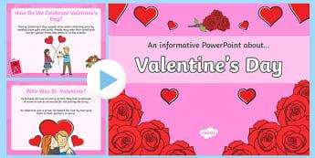 Valentine's Day Assembly Presentation - Valentine's Day, Assembly, presentation