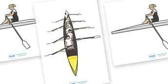 The Olympics Editable Images Rowing - Rowing, Olympics, Olympic Games, sports, Olympic, London, images, editable, event, picture, 2012, activity, Olympic torch, medal, Olympic Rings, mascots, flame, compete, events, tennis, athlete, swimming