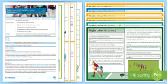 Rugby 9 : Analysis of Performance in a Game Lesson Ideas - PE, KS3, Rugby, Analysis, lesson plan, game