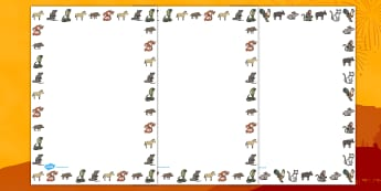 Chinese New Year Page Borders - australia, chinese, new year