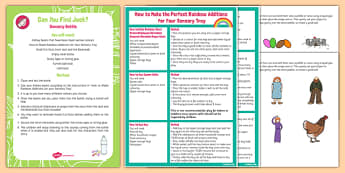 Can You Find Jack? Sensory Bottle - Jack and the Beanstalk, EYFS