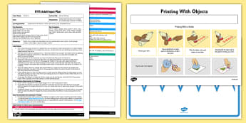 EYFS Mirror Painting Adult Input Plan - EYFS, Early Years planning, adult led, mark making, fine motor, lines and shapes, Expressive Arts and Design.