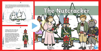 The Nutcracker Story PowerPoint - nutcracker and the mouse king, christmas eve, hoffman, nutcracker story,