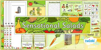 D&T: Sensational Salads KS1 Unit Additional Resources