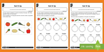Deriving Number Bonds to Eight Differentiated Worksheet / Activity Sheets - Addition and Subtraction, all possibilities, proof, subtraction, take away, add, plus, work methodic