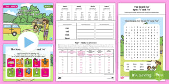 Year 1 Term 1A Week 6 Spelling Pack - Spelling Lists, Word Lists, Autumn Term, List Pack, SPaG