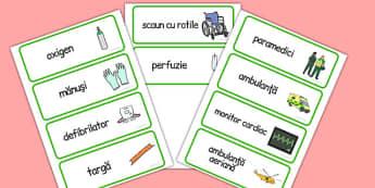 Paramedici - Cartonașe pentru jocul de rol