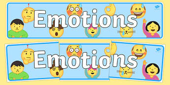Emotions (Emojis) Display Banner - , moji