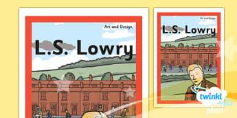 Art: LS Lowry KS1 Unit Book Cover