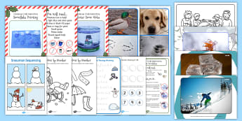 EYFS Snow Day Activity Pack - eyfs snow, activity pack, activity