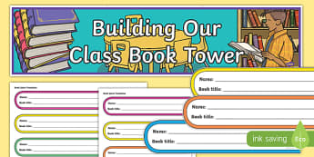 Personal Reading Challenge Book Tower Display Pack-Scottish