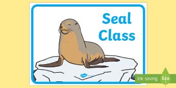 Seal Class Display Sign - seal class, display sign, class display sign, display, sign, seal